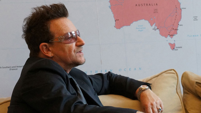 Bono speaking out on behalf of development aid | GatesNotes.com The Blog of Bill Gates
