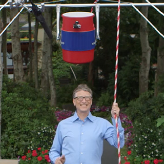 Bill Gates Taking the Ice Bucket Challenge for ALS Awareness | GatesNotes.com The Blog of Bill Gates