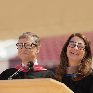 Bill and Melinda Gates Deliver Stanford University's Commencement Speech, 2014 | GatesNotes.com The Blog of Bill Gates