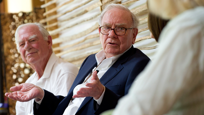 Warren Buffett at Giving Pledge Gathering