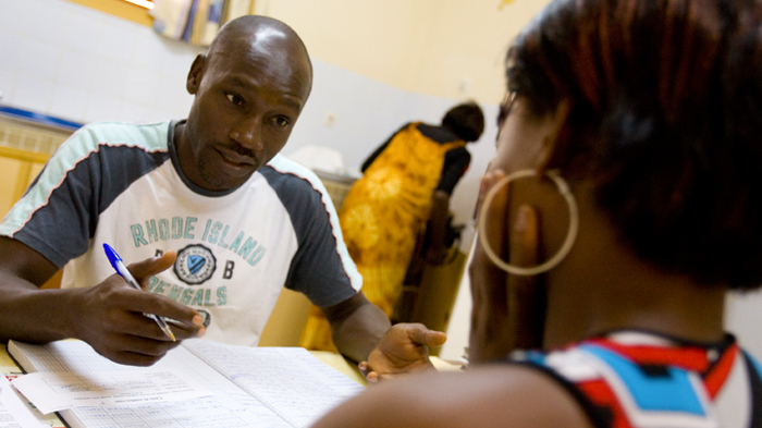 HIV testing in Cote d'Ivoire