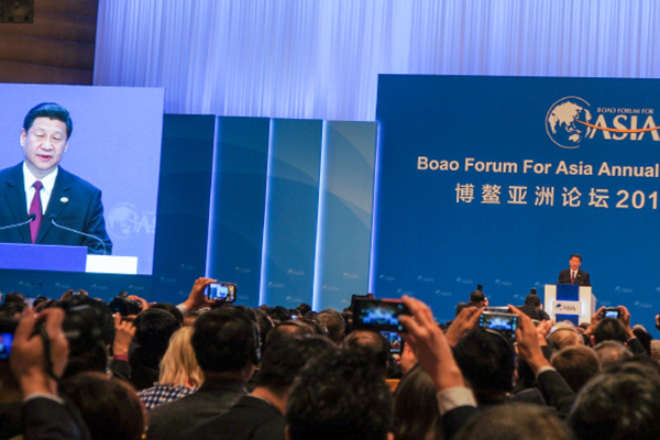 In China - At the Boao Conference