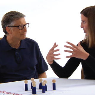 Bill Gates talks with Katie Brown, Washington State's Teacher of the Year | GatesNotes.com The Blog of Bill Gates