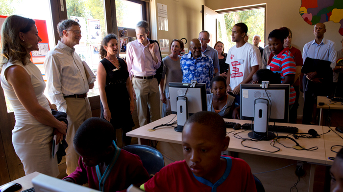 Desmond Tutu Youth Centre computer class