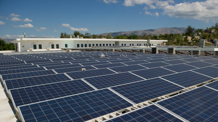Solar array powers hospital in Haiti