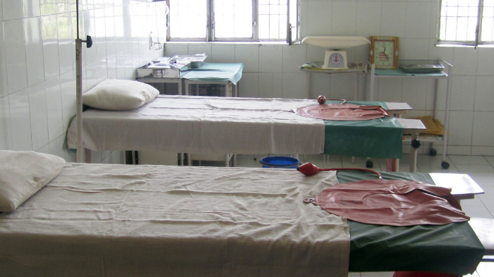 Two Delivery Beds in a Health Center