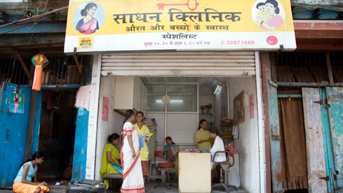 A Medical Clinic Located in Kamathipura, Mumbai's Oldest and Asia's Largest Red-light District