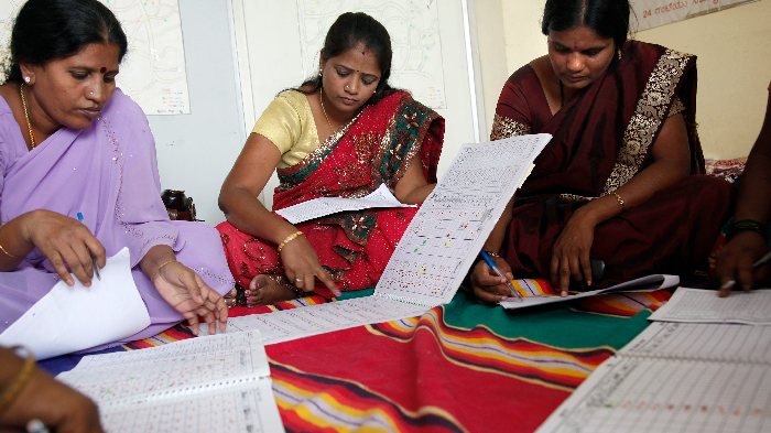 The center in Bangalore uses microfinance to run its programs
