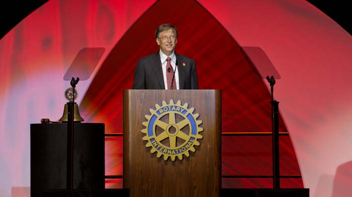 Bill Gates at 2011 Rotary International Convention