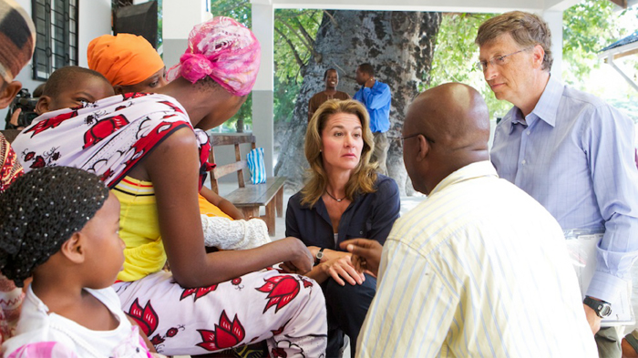 Bill & Melinda Gates in Tanzania