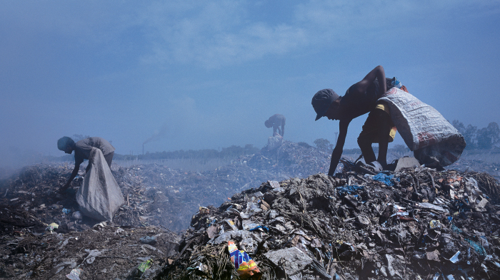 Ragpickers at the City Dump in Kanpur, Uttar Pradesh | GatesNotes.com The Blog of Bill Gates