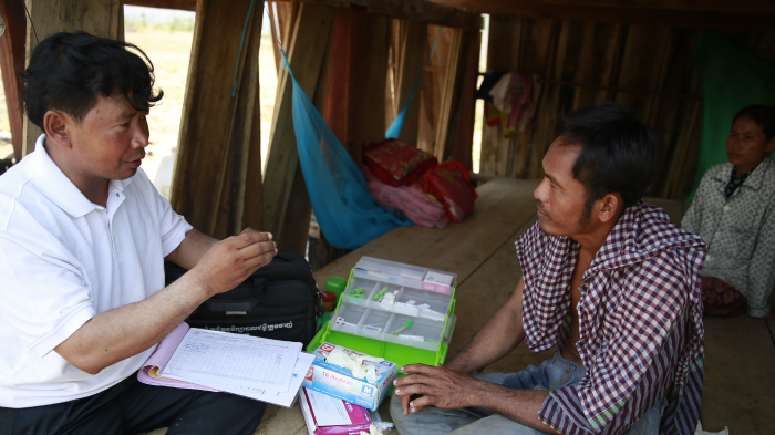 Long Vuthy Administers Malaria Test, Cambodia - Mosquito Week | GatesNotes.com The Blog of Bill Gates
