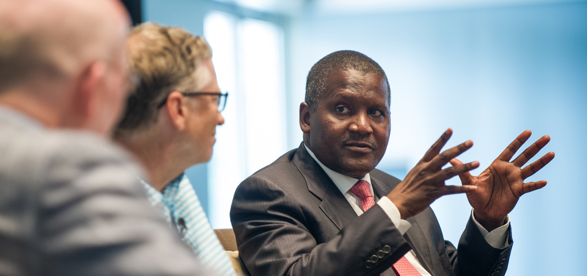 How I cemented my friendship with Aliko Dangote | Bill Gates