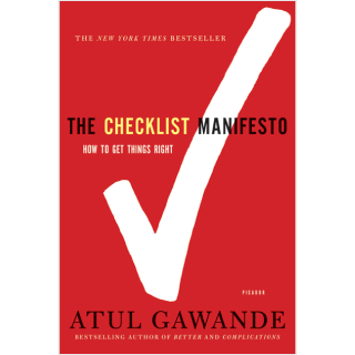 The Checklist Manifesto - Book Review
