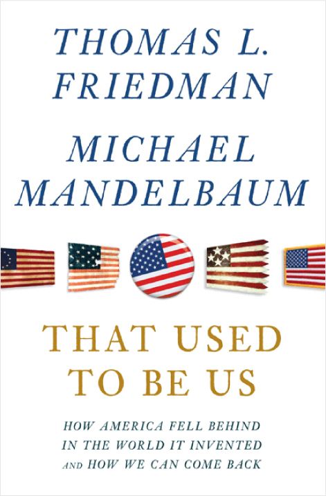 That Used to Be Us - Book Review