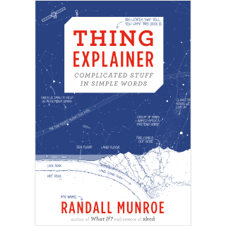 Thing Explainer book cover
