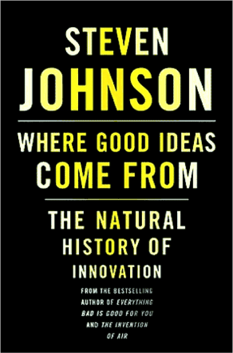 Where Good Ideas Come From - Book Review