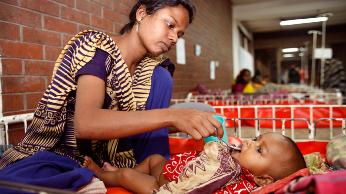 Oral rehydration treatment in Bangladesh