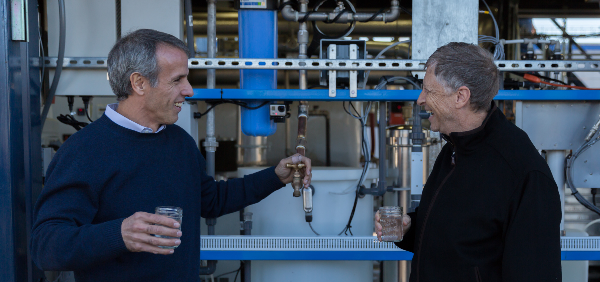 This Ingenious Machine Turns Feces Into Drinking Water