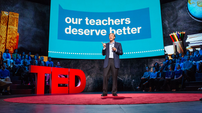 My TED Talk: Giving Teachers What They Deserve