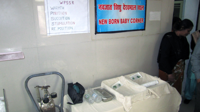 A New Born Baby Center