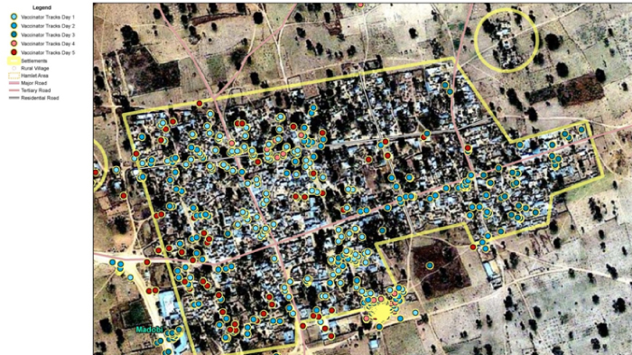 Imagery Used to Identify Settlement Locations
