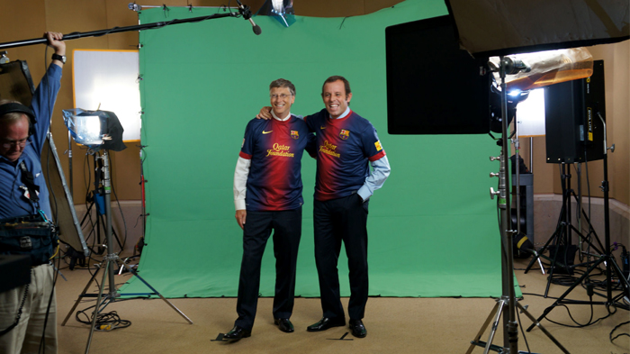 Bill and Sandro Rosell