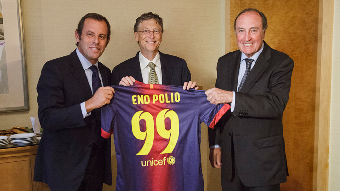Bill and FC Barcelona