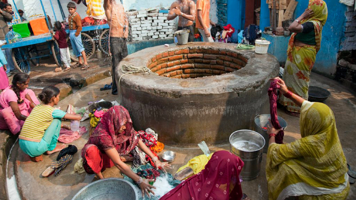 A Community Well in Patna, Bihar | GatesNotes.com The Blog of Bill Gates