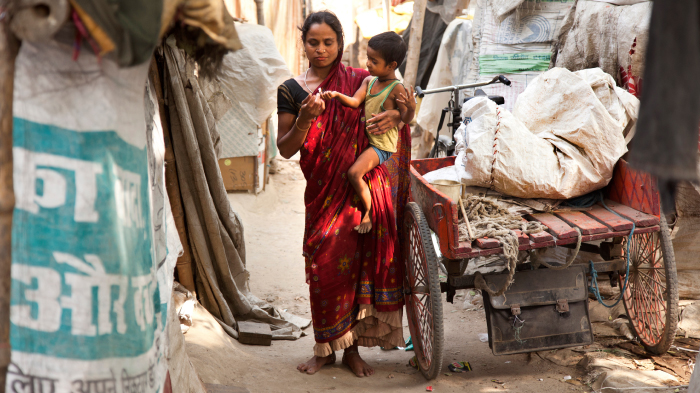 Zohra Khatun Lives in the Ujariaon Slum with Her Family | GatesNotes.com The Blog of Bill Gates