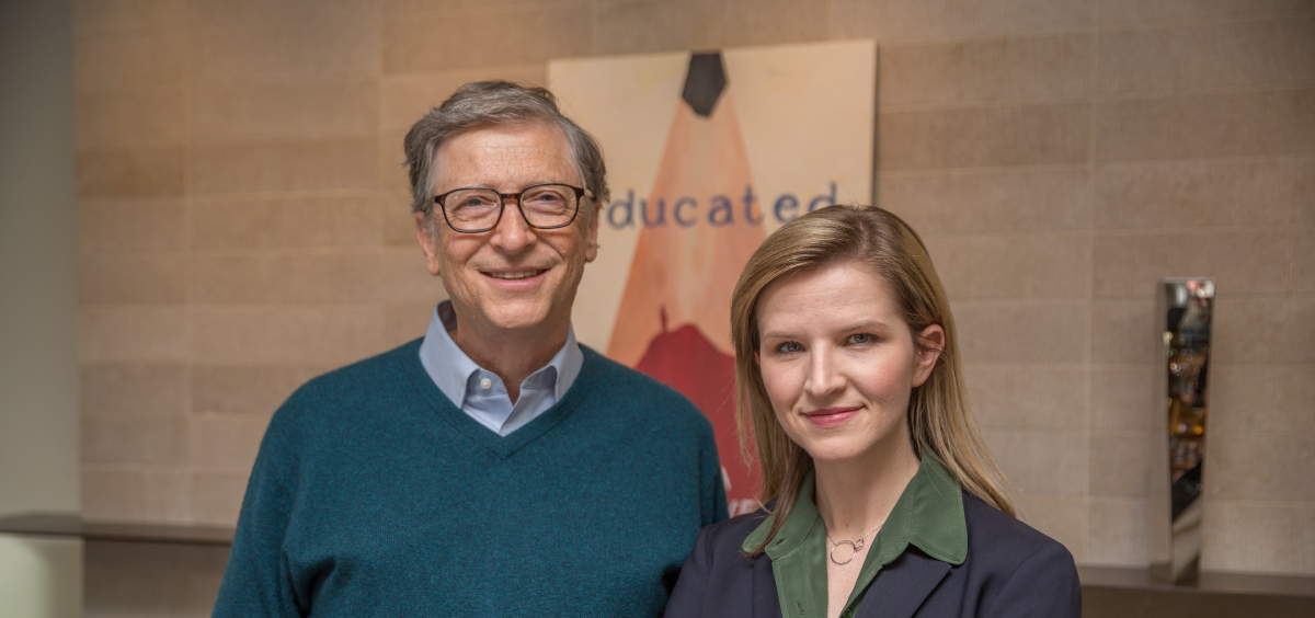 Educated is even better than you've heard | Bill Gates
